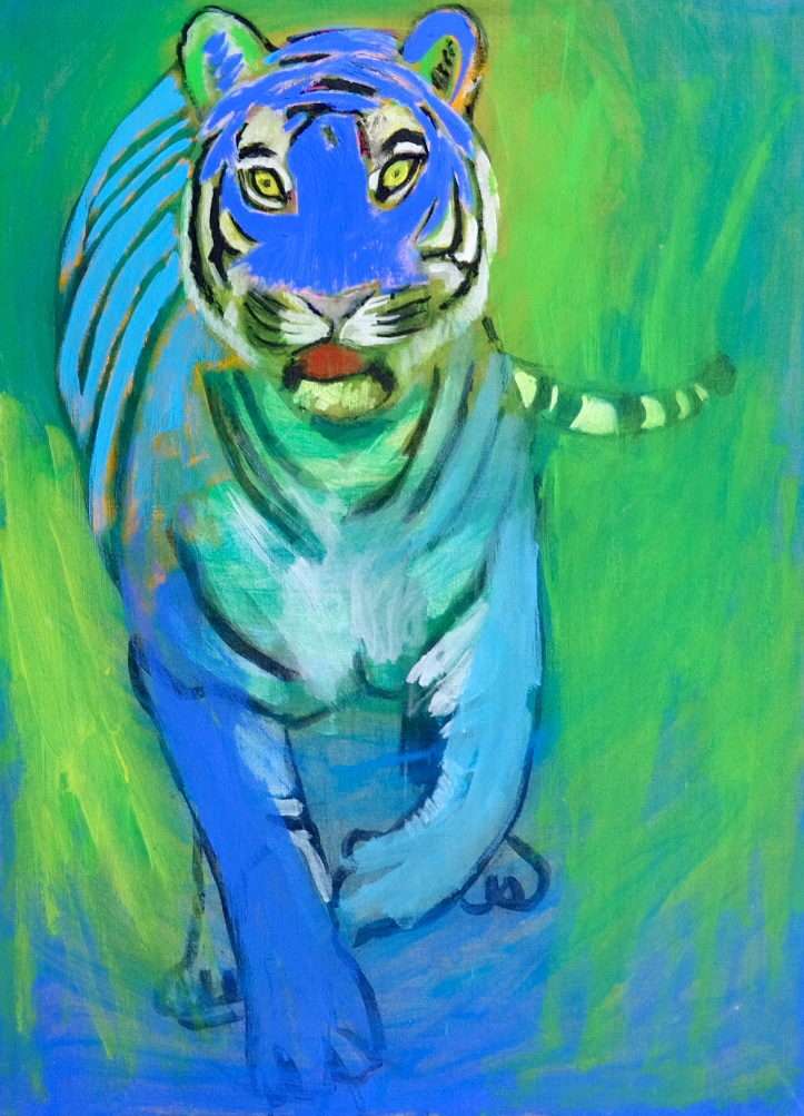 Blue tiger.