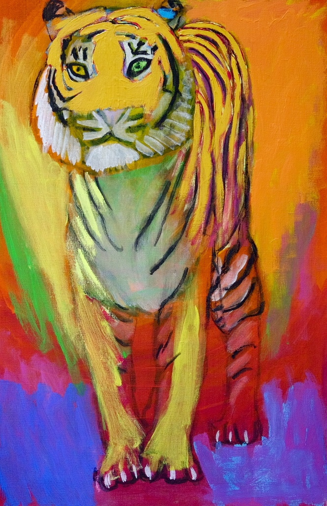 In waking a tiger, use a long stick. Mao Zedong