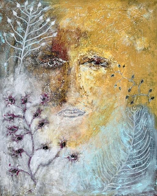 4. SOMMER. -2020. 92x73 cm. Annette Hoff-Jessen
