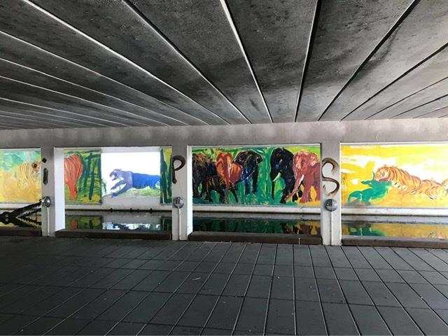 Viadukten - Albertslundvej over Kanalgaden i Albertslund. Uffe Christoffersen.