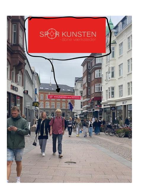 SPOR KUNSTEN. Uffe Christoffersen. Atelier-Kaiserborgen
