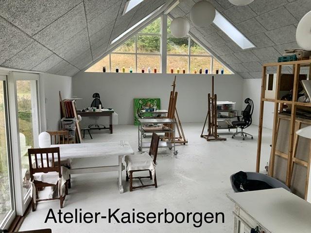 Uffe Christoffersen. Atelier-Kaiserborgen