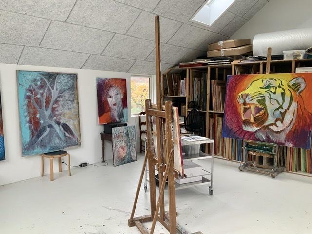 Atelier-Kaiserborgen. d. 3. og 4. oktober 2020. Uffe Christoffersen