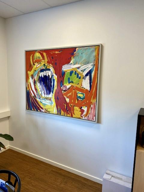 Uffe Christoffersen. Atelier-Kaiserborgen. Painting