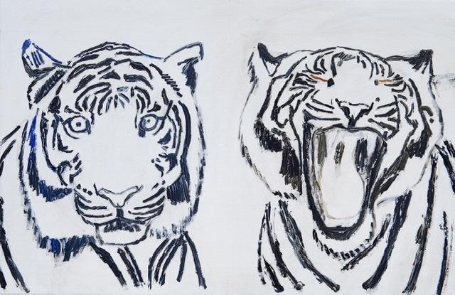 Uffe Christoffersen. Atelier-Kaiserborgen. Tigermaleren.