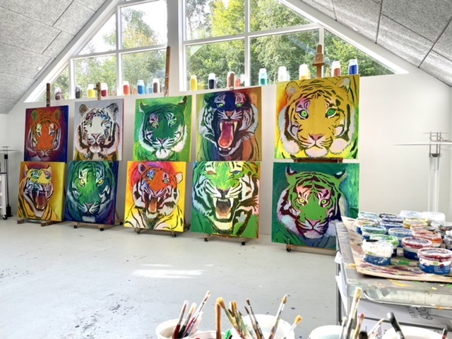 Uffe Christoffersen, Atelier-Kaiserborgen